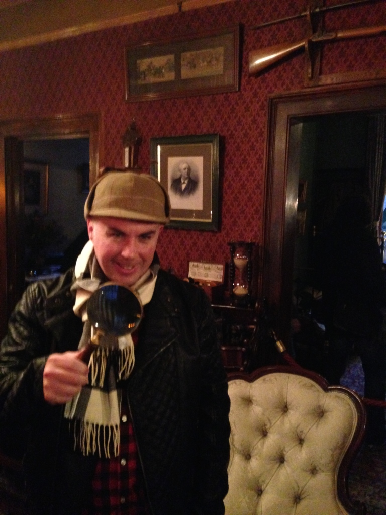 Sherlock Smyth at your service....