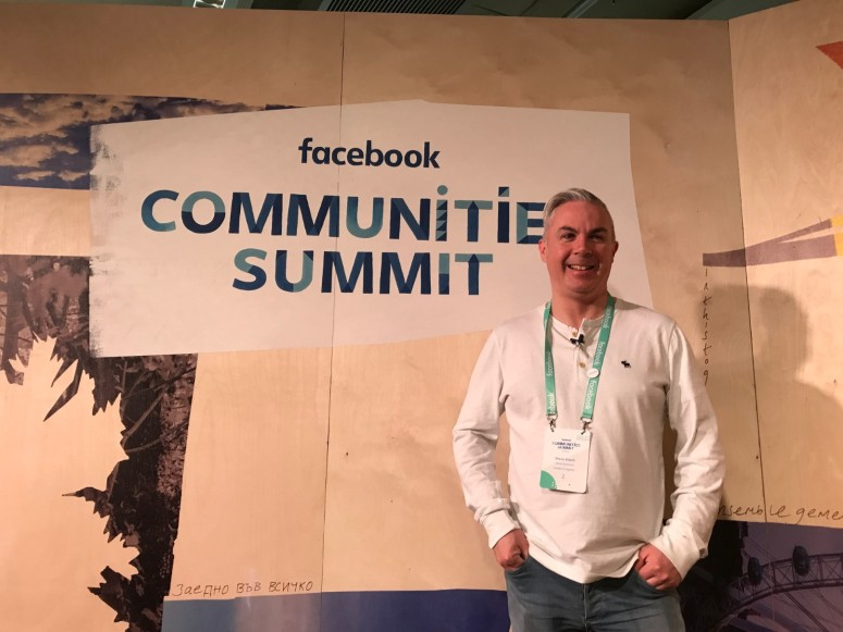 At the Facebook Communities Summit